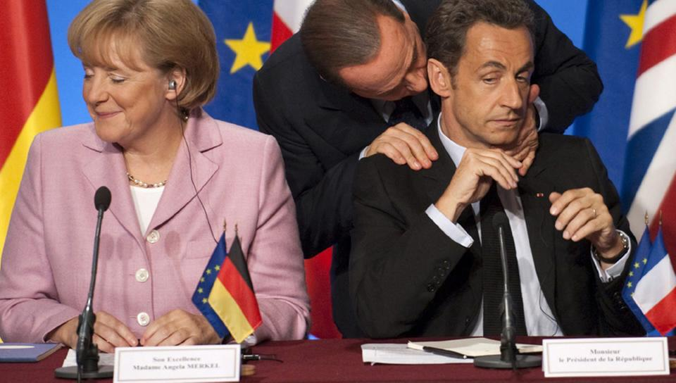 Merkel, Berlusconi, Sarkozy